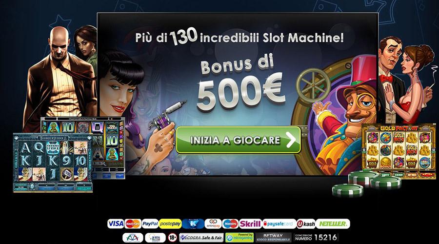Le promozioni dei casino online