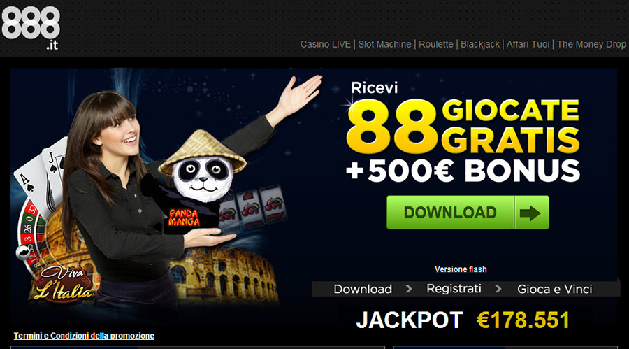 888 online casino fast money