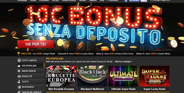 Fun bonus da 10€ senza deposito su NetBet