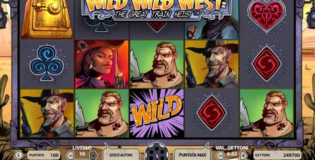 Slot Machine Wild Wild West