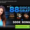 Giocate gratuite nel casino online 888.it