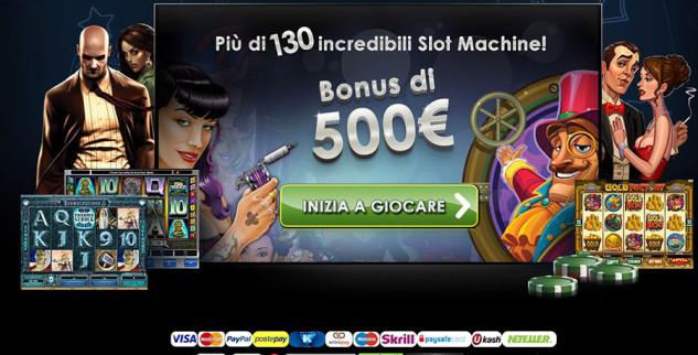 Betway, un benvenuto da 500€ in bonus per il casino