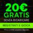 Bonus 888 casino: 20 € alla registrazione e 500 € di benvenuto